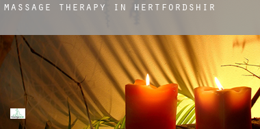 Massage therapy in  Hertfordshire