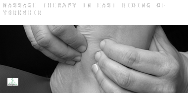 Massage therapy in  East Riding of Yorkshire