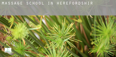 Massage school in  Herefordshire
